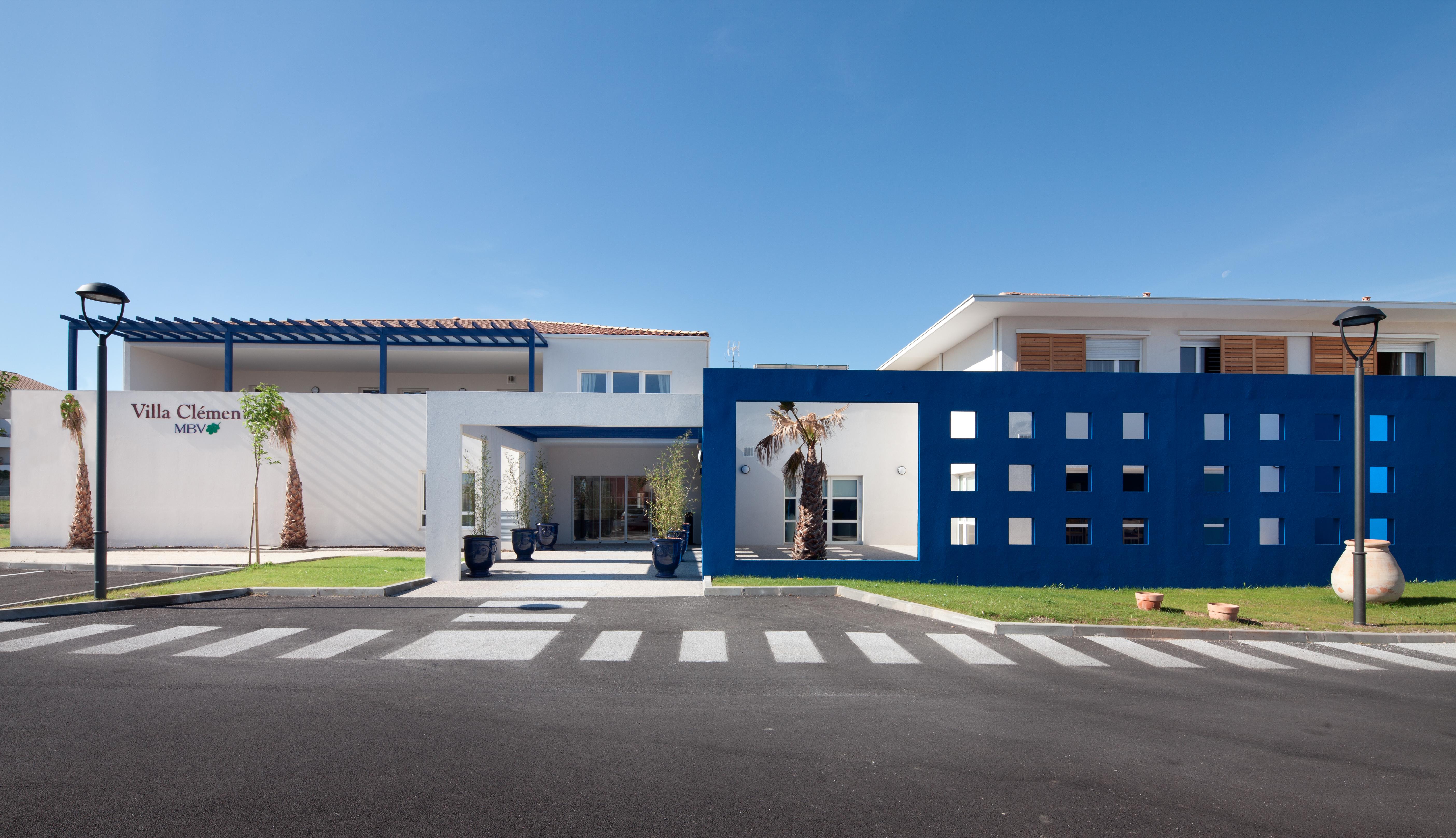 Villa Clementia EHPAD - Architecte Patrice Genet - Photo : Mathieu Ducros